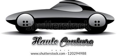 design concept of automobile - stock vector