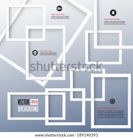 Design 3D Geometrical abstract background