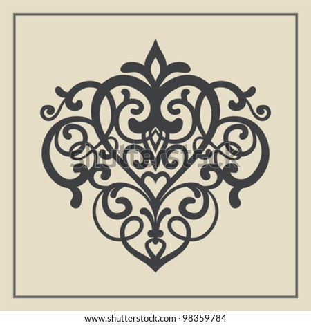 Design element for decorations | Vector illustration. - stock vector