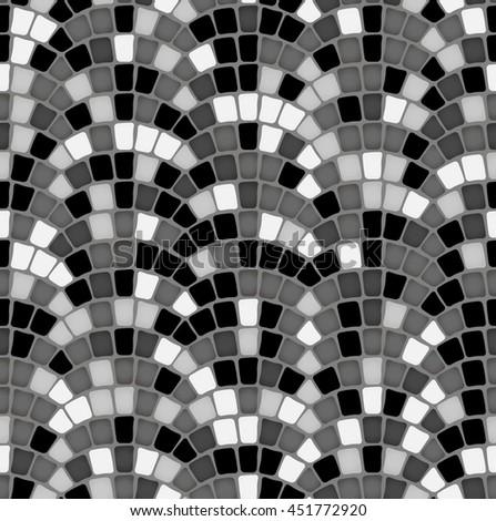 design element. vintage paving stones texture - stock vector