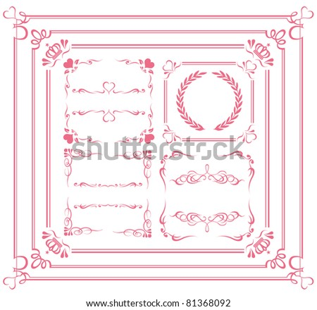Design Elements Collection Illustration vector.