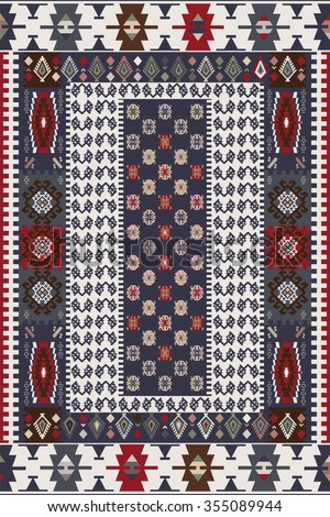 Design For Oriental Style Rug
