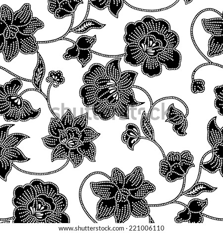 Design for Textiles.background of flowers. - stock vector