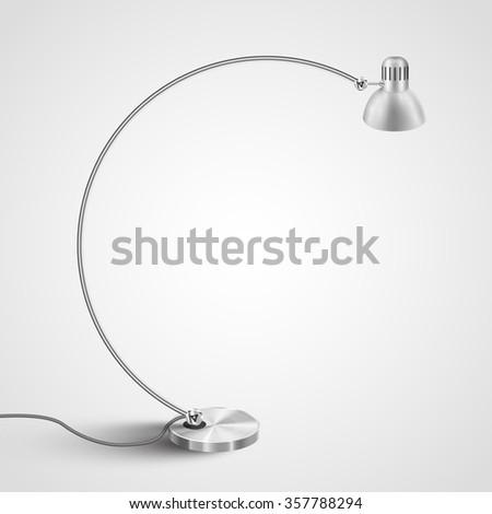 Design lamp for interiors, vector - stock vector