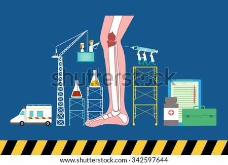 Design of health care concept,vector illustration. - stock vector