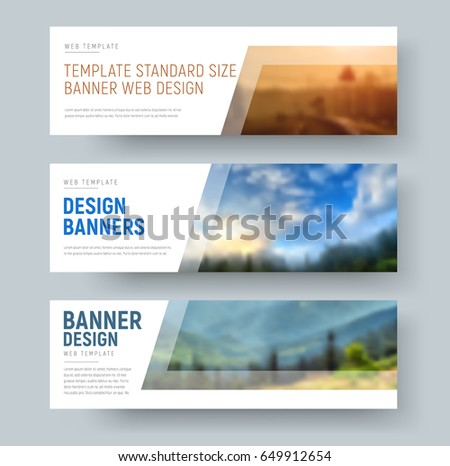 Horizontal banner stock images royalty free images - Text banner design ...