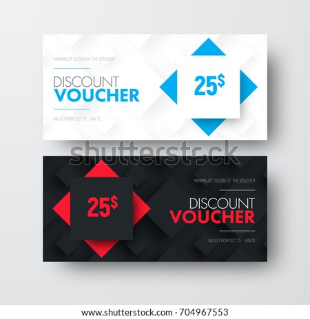 Design vector gift voucher rhombuses on stock vector 704967553 design of vector gift voucher with rhombuses on background and text universal white and black yelopaper Images
