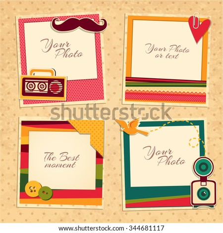 Scrapbook Stock Images Royalty Free Images amp Vectors