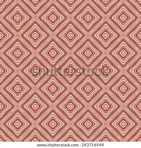 Design seamless colorful geometric pattern. Abstract diamond background. Vector art - stock vector