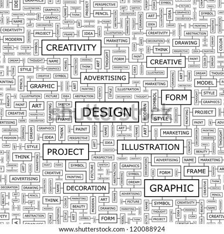 DESIGN. Seamless vector pattern. - stock vector