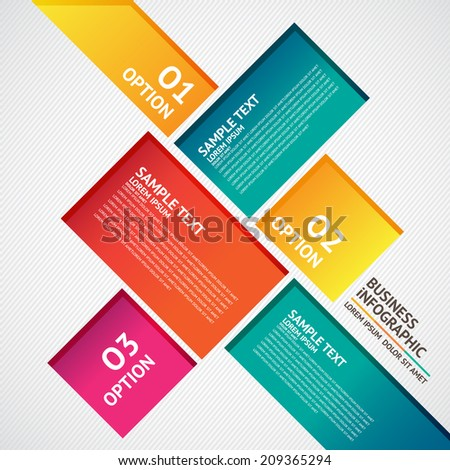 Design template - stock vector