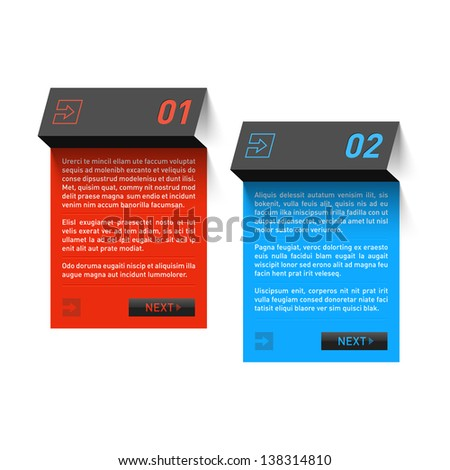 Design template. Fully editable vector. - stock vector