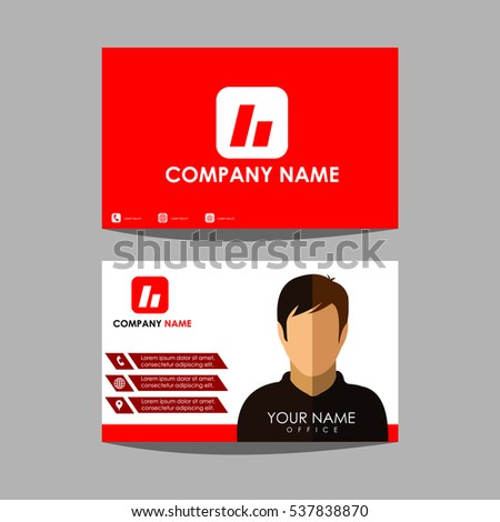 Design Template Layout Id Card Business Stock Vector Hd Royalty