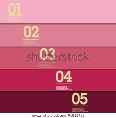 Design template - purple / graphic or website layout vector - stock vector