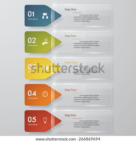 Design transparency banners template/graphic or website layout. Vector. - stock vector