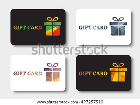 Gift Card Template Discount Coupon Vector Stock Vector 413851192