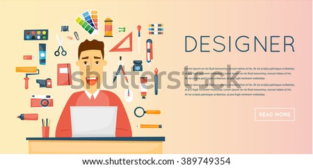 Business people action on notebook job stock vector for Character designer job