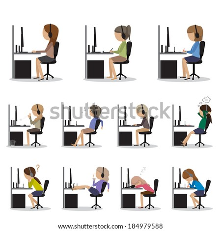 Designers - Isolated On White Background - Vector Illustration, Graphic Design Editable For Your Design.  - stock vector