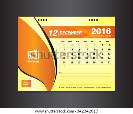 Monthly planner for desktop