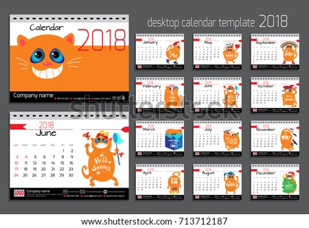 Calendar Design Stock Images Royalty Free Images