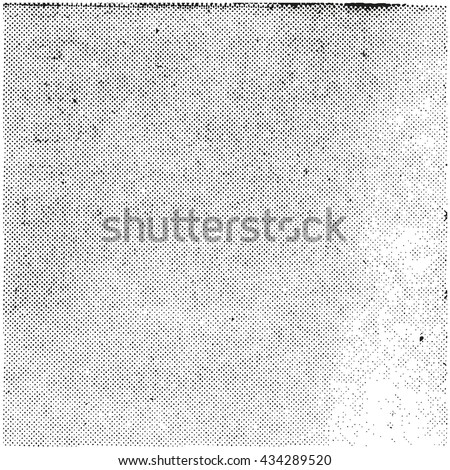 detailed halftone texture overlay  - stock vector