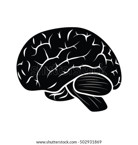 Detailed human brain icon vector stock vector hd royalty free detailed human brain icon vector ccuart Choice Image