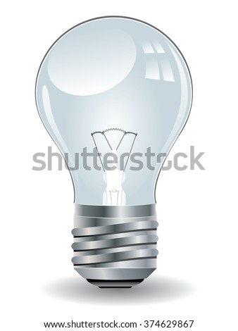 Detailed illustration of an abstract light bulb icon.