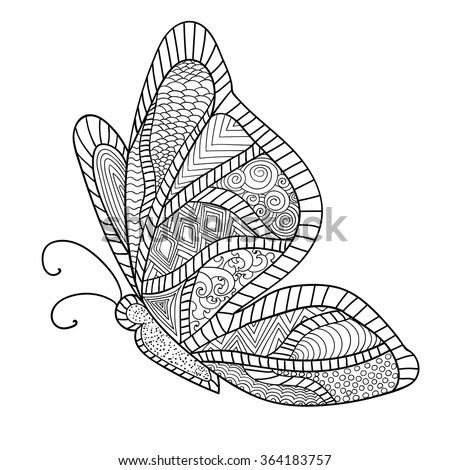 Colouring Pages Kookaburra : Adult coloring book pages for anti stress stock images royalty