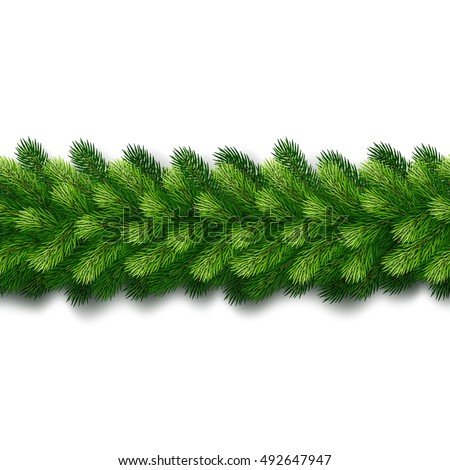 Christmas Garland Stock Images, Royalty-Free Images & Vectors ...