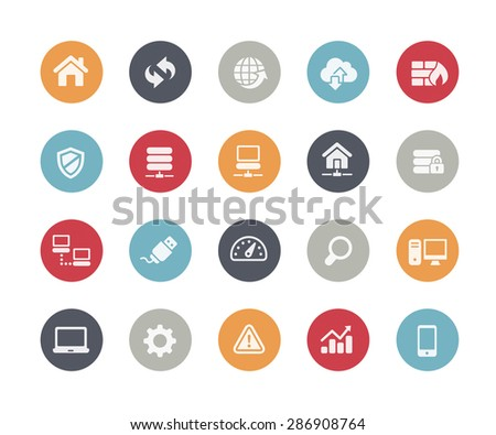 Developer Icons // Classics Series - stock vector