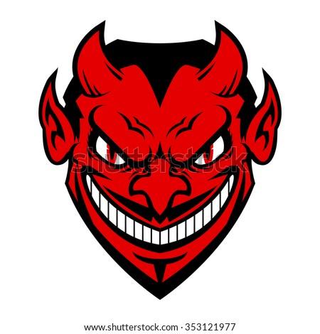 Adult devil face