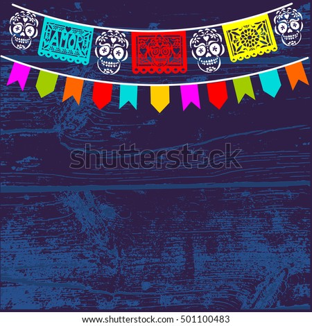 Mexican Cut Paper Stock Images Royalty Free Images