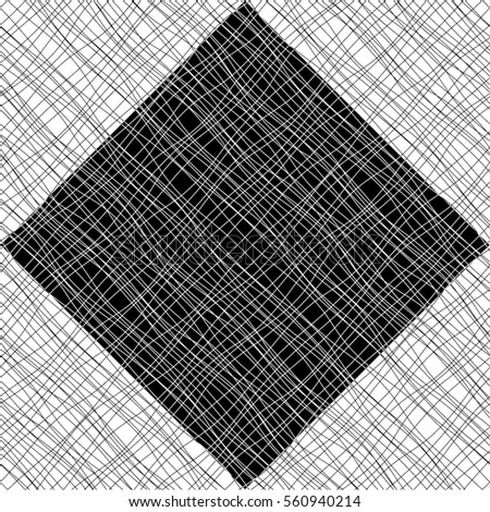 diagonal pattern, grid, line, wave, square, rhombus, seamless vector background.