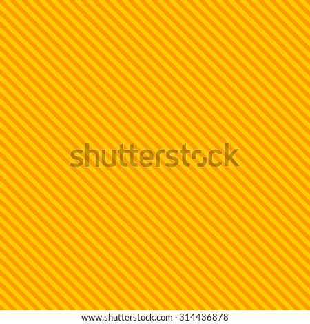 Diagonal striped lines background with yellow & red colors - stock vector