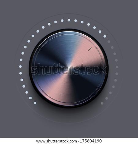 Dial Knob - stock vector
