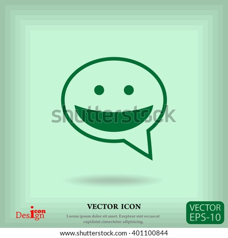 dialogue vector icon