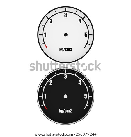 Dials of pressure gauges