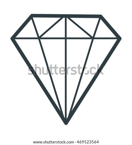 Diamond Colored Vector Icon