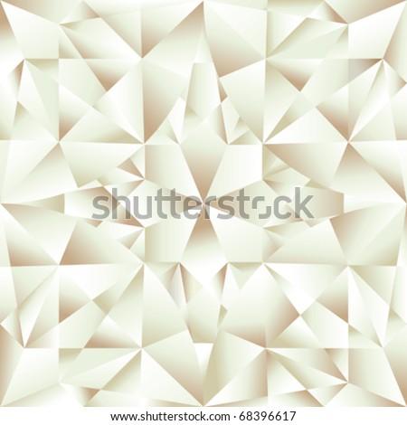 Diamond seamless pattern, abstract texture - stock vector