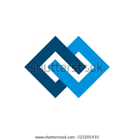 diamond shape infinity logo template stock vector hd royalty free rh shutterstock com Diamond Shape Logo with Red diamond shaped logo design