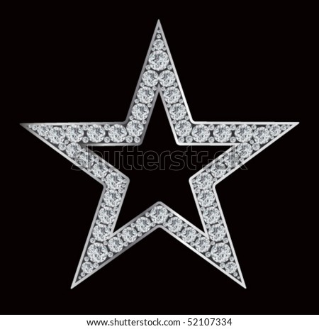Diamond Stars - stock vector