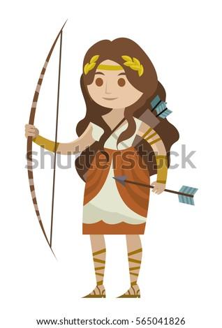 Artemis Goddess Clipart World Wide Clip Art Website