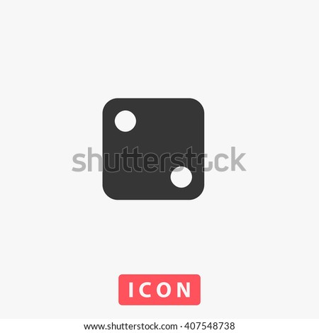 dice Icon. dice Icon Vector. dice Icon Art. dice Icon eps. dice Icon Image. dice Icon logo. dice Icon Sign. dice Icon Flat. dice Icon design. dice icon app. dice icon UI. dice icon web. dice icon gray - stock vector