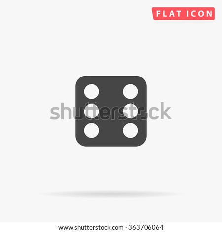 Dice 6 Icon Vector. Dice 6 Icon JPEG. Dice 6 Icon Picture. Dice 6 Icon Image. Dice 6 Icon Graphic. Dice 6 Icon Art. Dice 6 Icon JPG. Dice 6 Icon EPS. Dice 6 Icon AI. Dice 6 Icon Drawing - stock vector