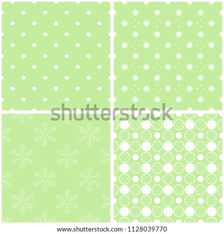 Different Baby Seamless Patterns Texture Wallpaper Stock Vector