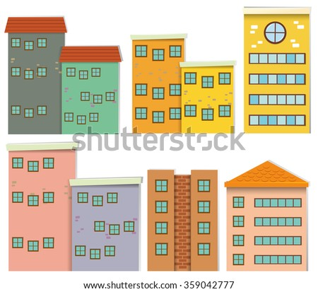 Apartment Buildings Stock Photos Royalty Free Images Vectors