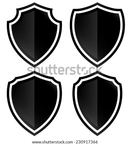 Different shield shapes stock photo photo vector illustration different shield shapes maxwellsz