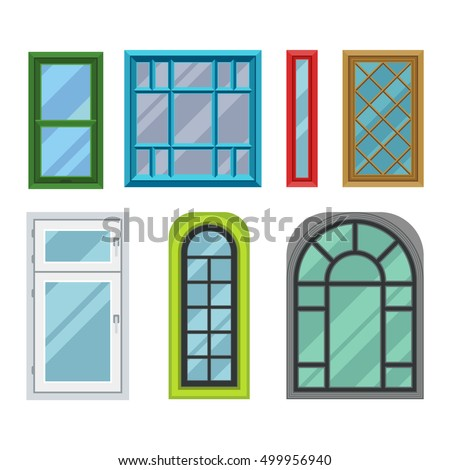 Different types doors stock images royalty free images for Different types of house windows