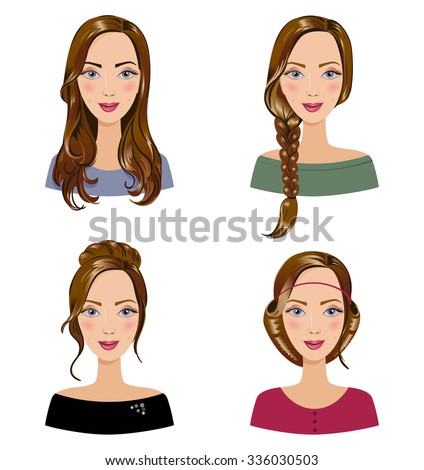 Surprising Hairstyle Stock Photos Royalty Free Images Amp Vectors Shutterstock Short Hairstyles For Black Women Fulllsitofus