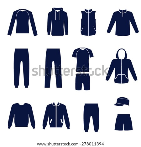 Sports clothing stock photos images pictures for Types of shirts for men
